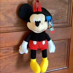 Mickey Mouse Clubhouse plush Mickey backpack NWT